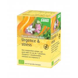 Salus - Tisane aux fleurs de Bach Urgence & Stress BIO - 15 sachets Salus Accueil Onaturel.fr