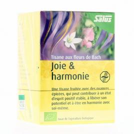 Salus - Tisane aux fleurs de Bach Joie & Harmonie BIO - 15 sachets Salus Accueil Onaturel.fr