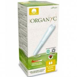 Organyc Tampons Régulier avec applicateur Boîte de 16