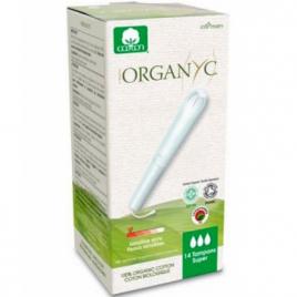 Organyc Tampons Super avec applicateur Boîte de 14 Organyc
