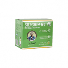 Silicium G5 Loic Le Ribault Silicium G5 Monodoses - 30x20 Ml Silicium G5 Loic Le Ribault Accueil Onaturel.fr