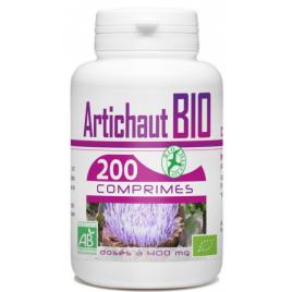 GPH Diffusion Artichaut bio 400 mg 200 comprimés GPH Diffusion Digestion Onaturel.fr