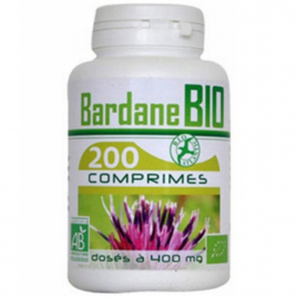 GPH Diffusion Bardane bio 400mg 200 comprimés GPH Diffusion