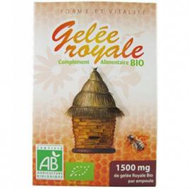 GPH Diffusion Gelée Royale bio 20 ampoules GPH Diffusion Compléments Alimentaires Bio Onaturel.fr