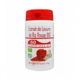GPH Diffusion Levure de Riz rouge BIO 600mg 60 comprimés GPH Diffusion Cholestérol Onaturel.fr