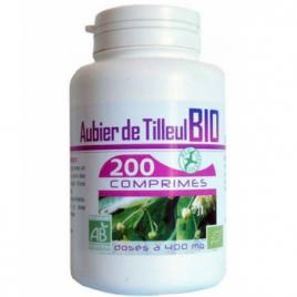 GPH Diffusion Aubier de Tilleul bio 400mg 200 comprimés GPH Diffusion Compléments Alimentaires Bio Onaturel.fr