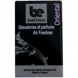 Buvards D Encens Buvard d'encens Oriental 36 feuillets Buvards D Encens Parfum d'ambiance Onaturel.fr