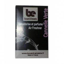 Buvards D Encens Buvard d'encens Cannelle Verte 36 feuillets Buvards D Encens Parfum d'ambiance Onaturel.fr