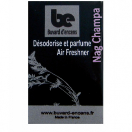 Buvards D Encens Buvard d'encens Nag Champa 36 feuillets Buvards D Encens Parfum d'ambiance Onaturel.fr