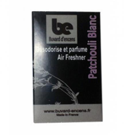 Buvards D Encens Buvard d'encens Patchouli Blanc 36 feuillets Buvards D Encens Parfum d'ambiance Onaturel.fr