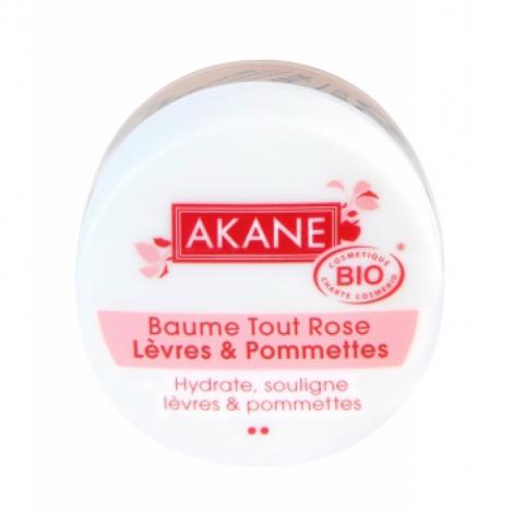 Akane Baume Tout rose lèvres et pommettes 12gr Akane
