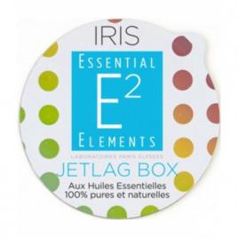 Essential Elements Jetlag Box Aroma Box Capsules recharges pour diffuseur IRIS aux 25 Huiles Essentielles