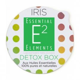 Essential Elements Detox Box Aroma Box Capsules recharges pour diffuseur IRIS aux 25 Huiles Essentielles