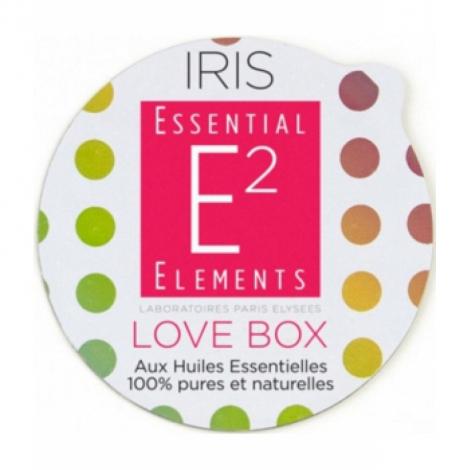 Essential Elements Love Box sensuality Capsules recharges pour diffuseur IRIS aux 24 Huiles Essentielles