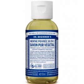 Dr Bronners Savon liquide à la Menthe Poivrée 59ml Dr Bronners Savons liquides Bio Onaturel.fr
