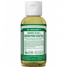 Dr Bronners Savon liquide à l'Amande 59ml Dr Bronners Savons liquides Bio Onaturel.fr