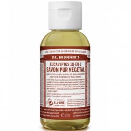 Dr Bronners Savon liquide à l'Eucalyptus 59ml Dr Bronners Savons liquides Bio Onaturel.fr