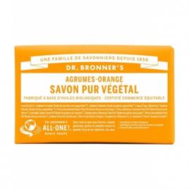 Dr Bronners Savon solide aux Agrumes Orange