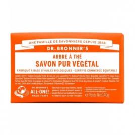Dr Bronners Savon solide à l'Arbre à thé Dr Bronners