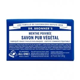 Dr Bronners Savon solide à la Menthe Poivrée