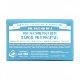 Dr Bronners Savon solide Non Parfumé