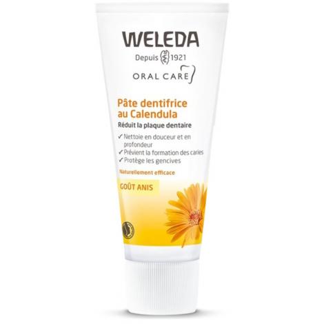 Weleda Pâte dentifrice au Calendula goût anis 75ml