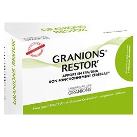 Ea Pharma Laboratoire Des Granions Restor 60 Capsules Ea Pharma Accueil Onaturel.fr
