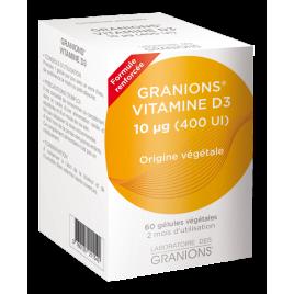 Ea Pharma Laboratoire Des Granions Vitamine D3 végétale 60 gélules Ea Pharma Accueil Onaturel.fr