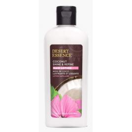 Desert Essence Lotion capillaire lissage et brillance à la noix de coco Desert Essence Shampooings Cheveux secs Onaturel.fr
