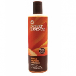 Desert Essence Shampooing au jojoba 382 ml Desert Essence Shampooings Cheveux secs Onaturel.fr