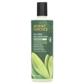 Desert Essence Shampoing régénérant à l'arbre à thé 382 ml Desert Essence Shampooings Bio et Soins capillaires Onaturel.fr