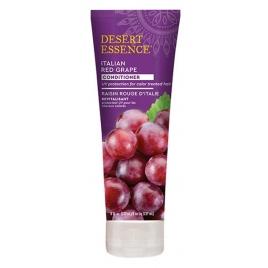 Desert Essence Après shampooing cheveux colorés au raisin rouge d'Italie Desert Essence