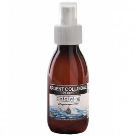 Oligo élément ARGENT colloïdal 20 ppm Catalyons Spray pulvérisateur 120ml Catalyons Rhume- Gorge-Bronches- Nez Onaturel.fr