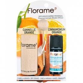 Florame Diffuseur d'arôme provençal HE Cannelle orange bio 10ml Florame Aromathérapie Bio Onaturel.fr