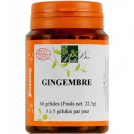 Belle et Bio Gingembre bio 60 gélules Belle et Bio Digestion Onaturel.fr