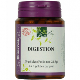 Belle et Bio Digestion Bio 60 gélules Belle et Bio Digestion Onaturel.fr