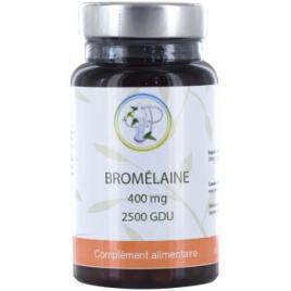 Planticinal Bromelaine 2500 GDU fort 400 mg 60 gélules
