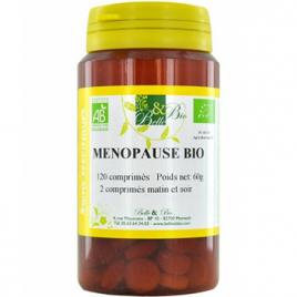 Belle et Bio Ménopause bio 120 comprimés Belle et Bio Compléments Alimentaires Bio Onaturel.fr