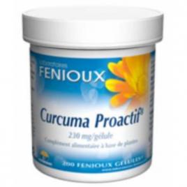 laboratoires fenioux Curcuma Proactif 200 gélules laboratoires fenioux Digestion Onaturel.fr