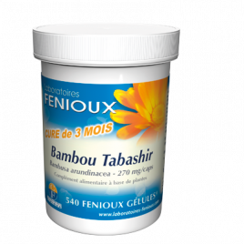 laboratoires Fenioux Bambou Tabashir 200 gélules laboratoires fenioux