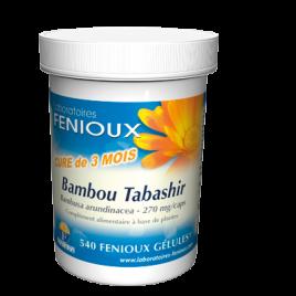 laboratoires Fenioux Bambou Tabashir 540 gélules laboratoires fenioux Accueil Onaturel.fr