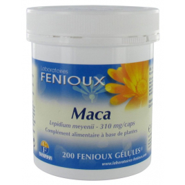 laboratoires Fenioux Maca 200 Gélules laboratoires fenioux Tonus sexuel Onaturel.fr