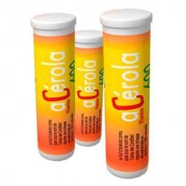 laboratoires Fenioux Acérola 600 3 Tubes de 14 Comprimés laboratoires fenioux Anti-stress/Sommeil Onaturel.fr