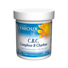 laboratoires Fenioux CBC Complexe B Charbon 200 Gélules laboratoires fenioux Digestion Onaturel.fr