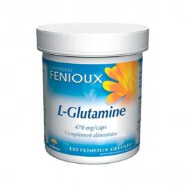 laboratoires Fenioux L Glutamine 120 Gélules laboratoires fenioux Immunité Onaturel.fr