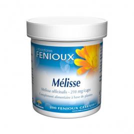 laboratoires Fenioux Mélisse 200 Gélules laboratoires fenioux Anti-stress/Sommeil Onaturel.fr