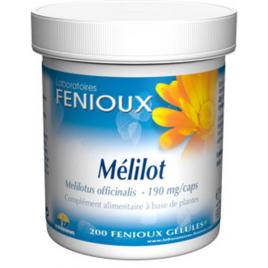 laboratoires Fenioux Mélilot 200 Gélules laboratoires fenioux Circulation Onaturel.fr