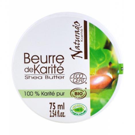 Naturado Mini Beurre de Karité 75ml Naturado Categorie temp Onaturel.fr