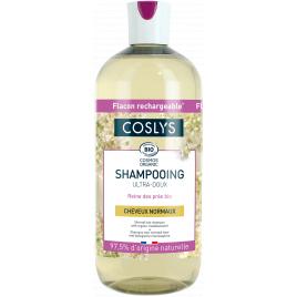 Coslys Shampooing cheveux normaux à la reine des prés d'Auvergne 500ml Coslys Shampooings Cheveux normaux Onaturel.fr
