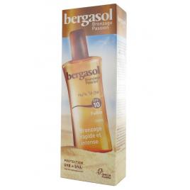 Omega Pharma  Bergasol  Huile Sèche Bronzage  SPF 10  Spray 125 Ml omega pharma Accueil Onaturel.fr